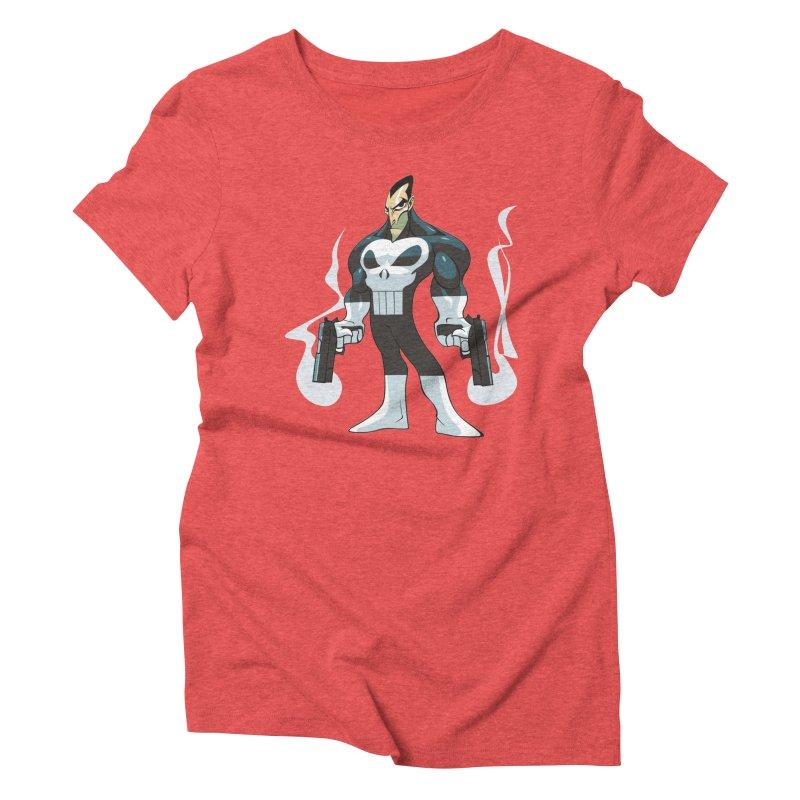 Frank is unimpressed. Women's Triblend T-shirt by Seth Banner's Artist Shop