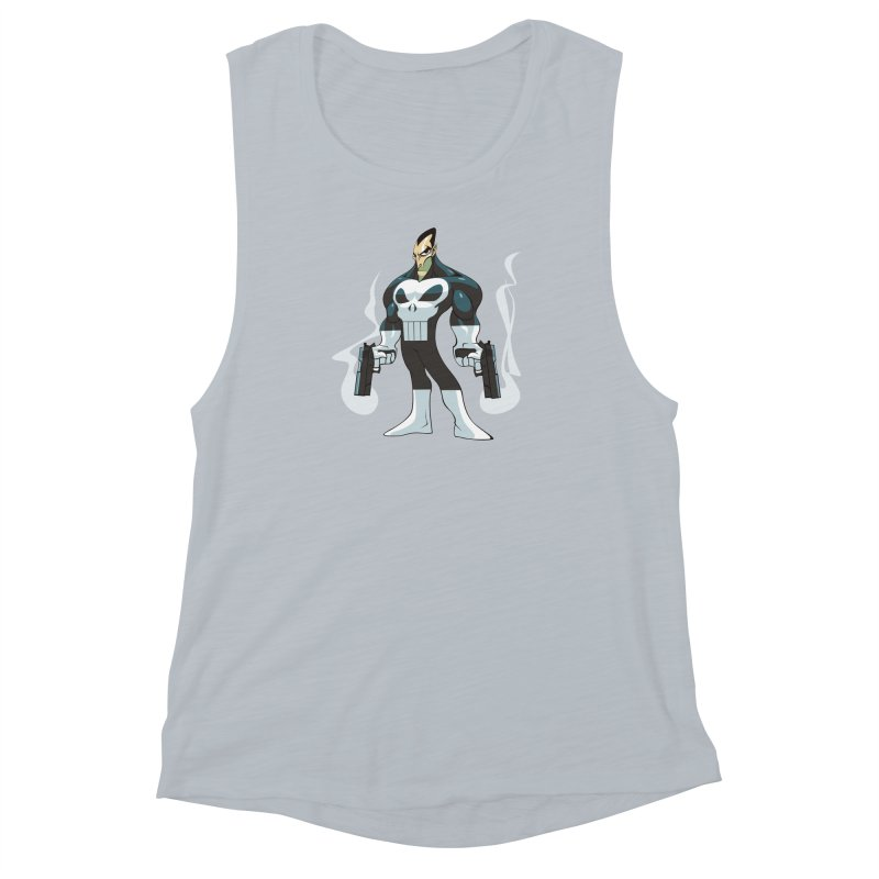 Frank is unimpressed. Women's Muscle Tank by Seth Banner's Artist Shop
