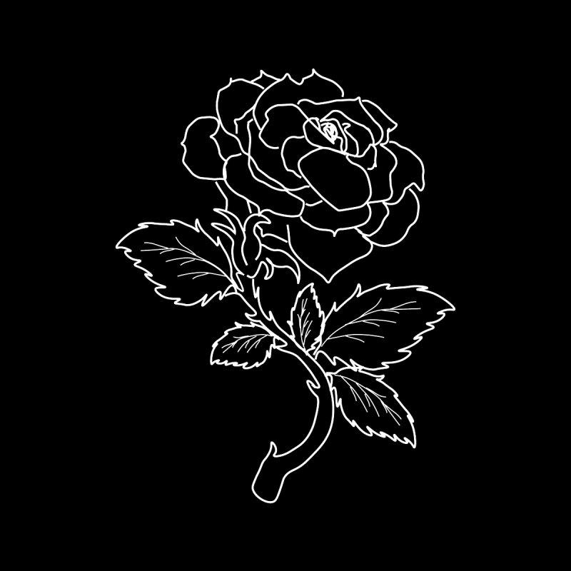 Black Rose in White by SethNewtonMusic & Black Rose Merchandise