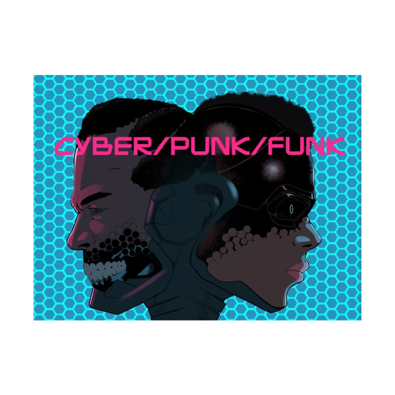 Cyber Punk Funk (Gemini Protocol) Men's T-Shirt by ShabazzArts's Artist Shop