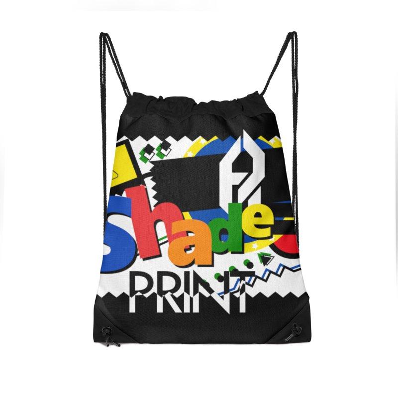 PLAY Shadeprint Accessories Drawstring Bag Bag by Shadeprint's Artist Shop