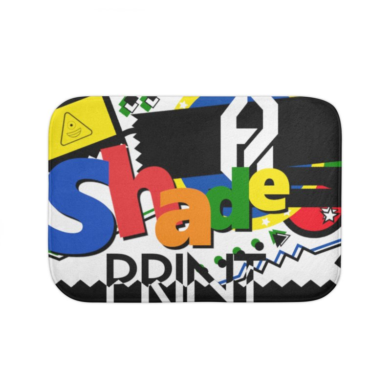 PLAY Shadeprint Home Bath Mat by Shadeprint's Artist Shop