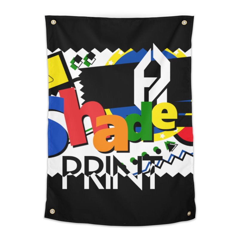 PLAY Shadeprint Home Tapestry by Shadeprint's Artist Shop