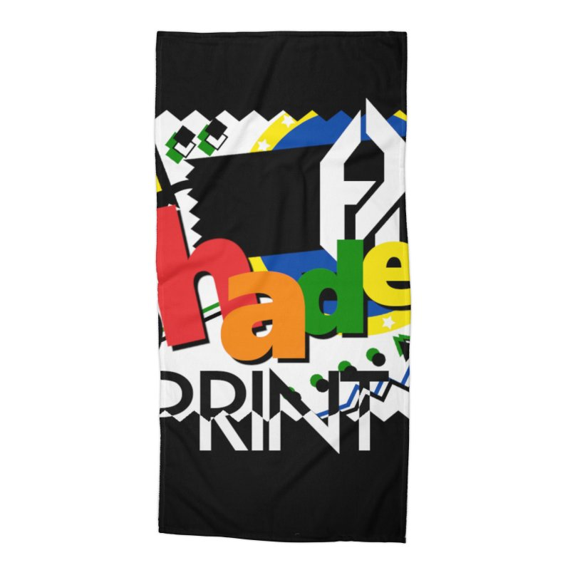 PLAY Shadeprint Accessories Beach Towel by Shadeprint's Artist Shop