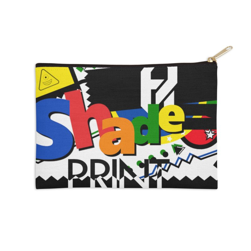 PLAY Shadeprint Accessories Zip Pouch by Shadeprint's Artist Shop