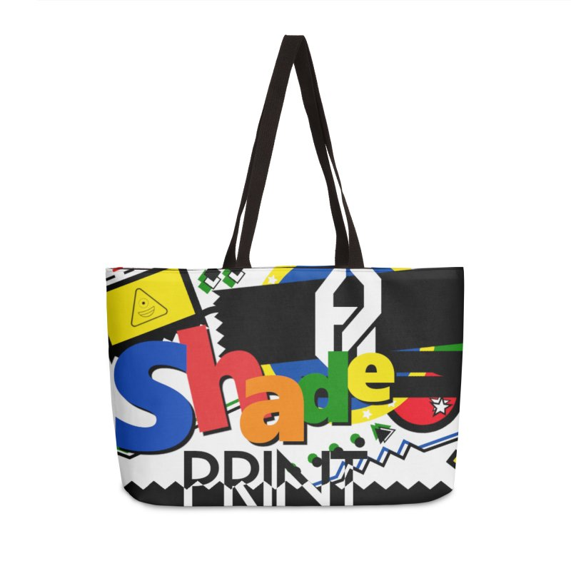 PLAY Shadeprint Accessories Weekender Bag Bag by Shadeprint's Artist Shop