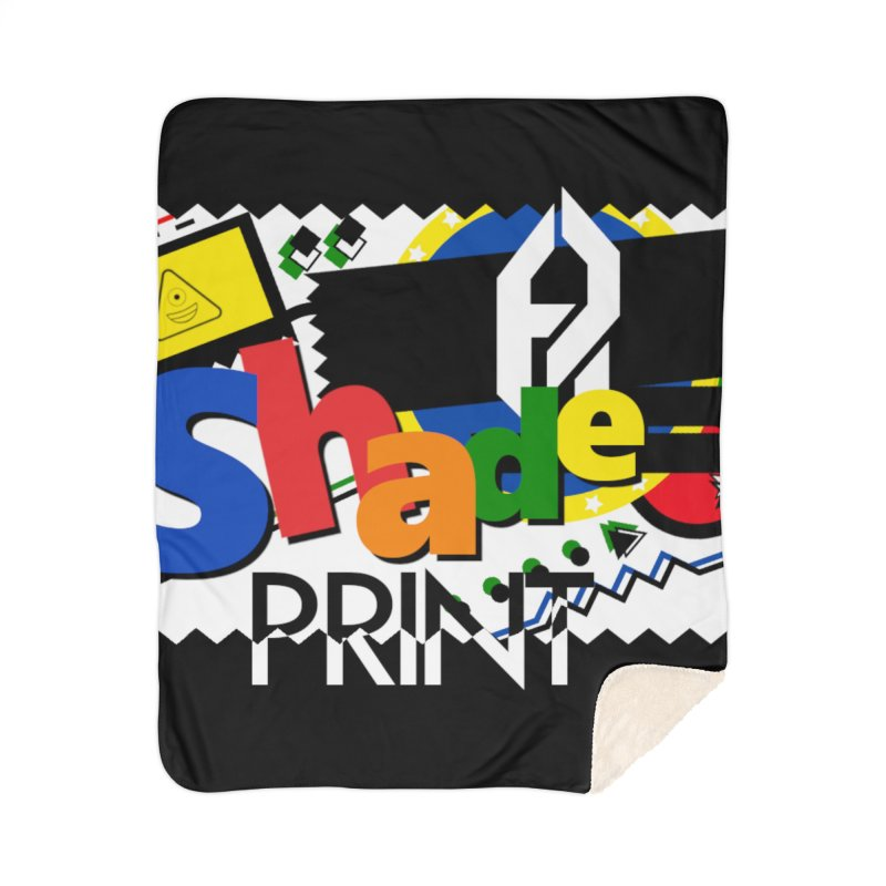 PLAY Shadeprint Home Sherpa Blanket Blanket by Shadeprint's Artist Shop