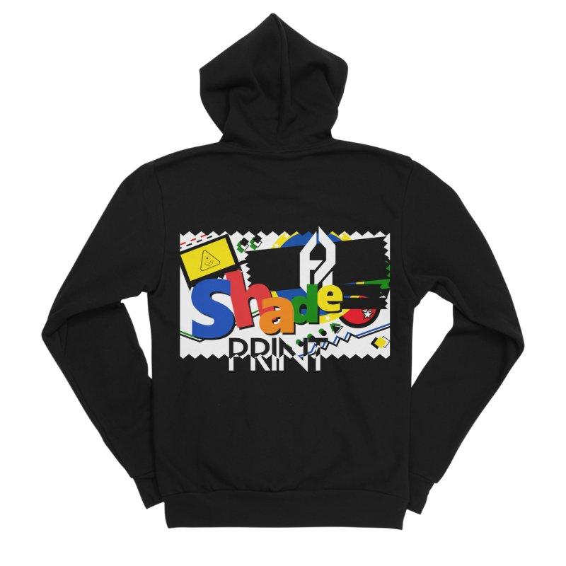 PLAY Shadeprint Men's Sponge Fleece Zip-Up Hoody by Shadeprint's Artist Shop