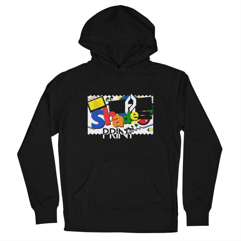 PLAY Shadeprint Men's French Terry Pullover Hoody by Shadeprint's Artist Shop