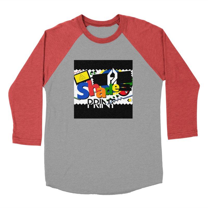 PLAY Shadeprint Men's Baseball Triblend Longsleeve T-Shirt by Shadeprint's Artist Shop