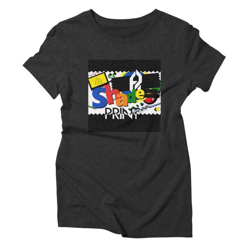 PLAY Shadeprint Women's Triblend T-Shirt by Shadeprint's Artist Shop