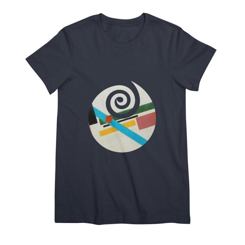 plain // clone Women's Premium T-Shirt by Shadeprint's Artist Shop