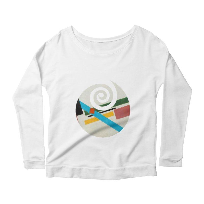 plain // clone Women's Scoop Neck Longsleeve T-Shirt by Shadeprint's Artist Shop