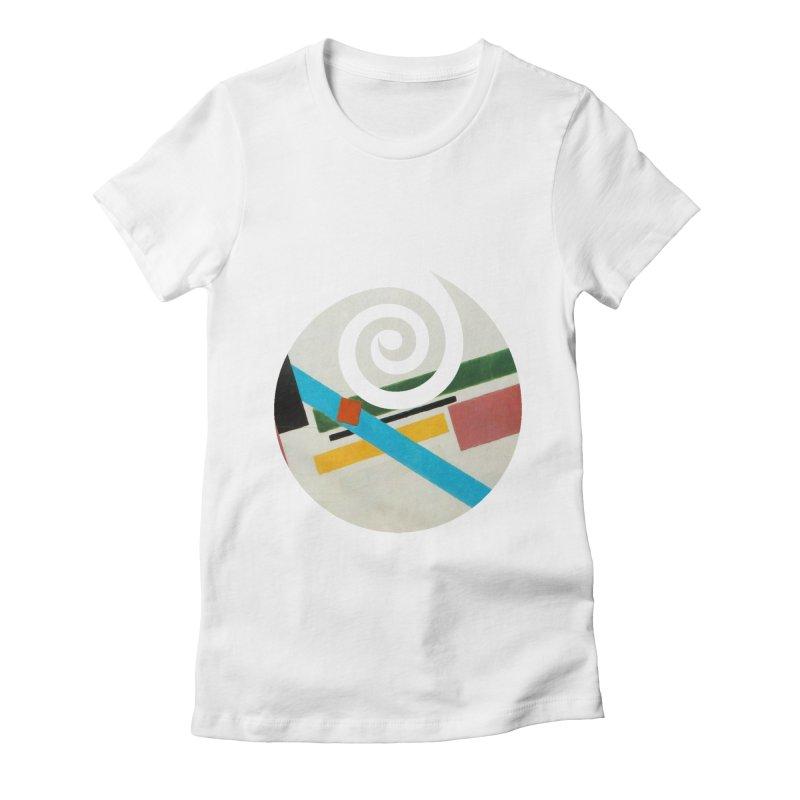 plain // clone Women's Fitted T-Shirt by Shadeprint's Artist Shop
