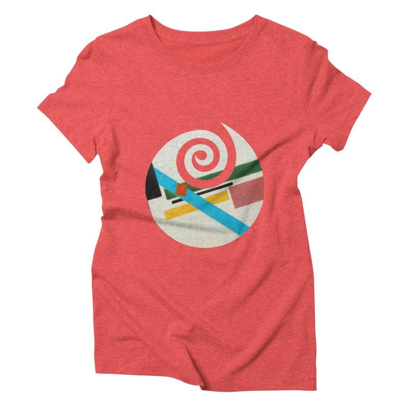 plain // clone Women's Triblend T-Shirt by Shadeprint's Artist Shop