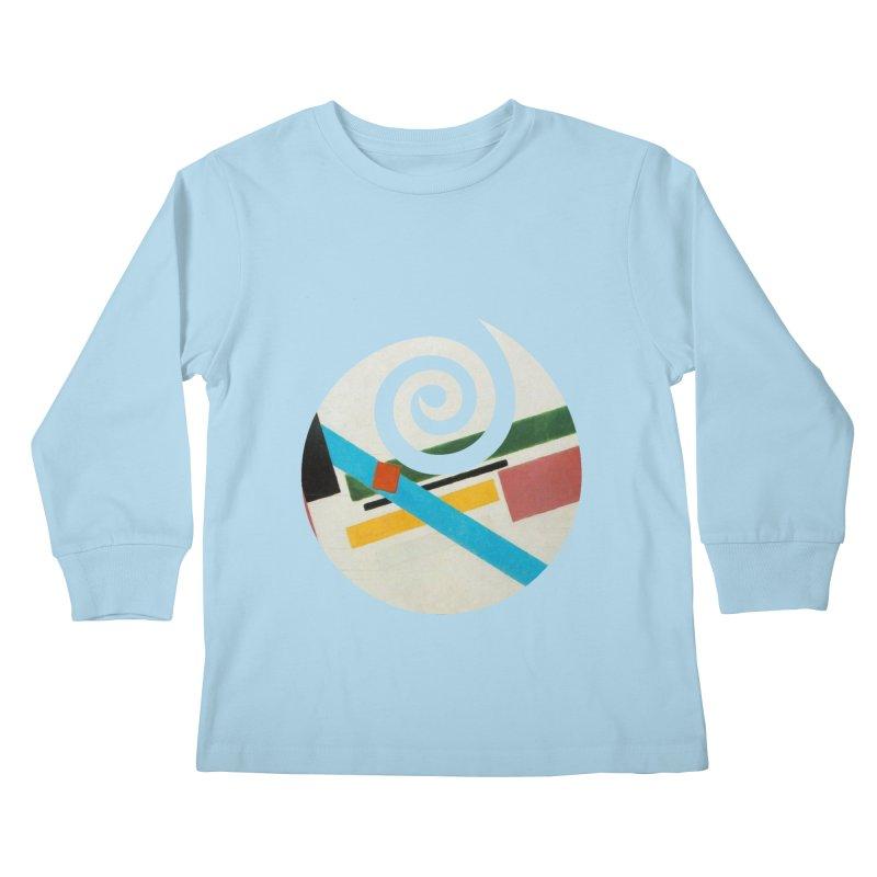 plain // clone Kids Longsleeve T-Shirt by Shadeprint's Artist Shop