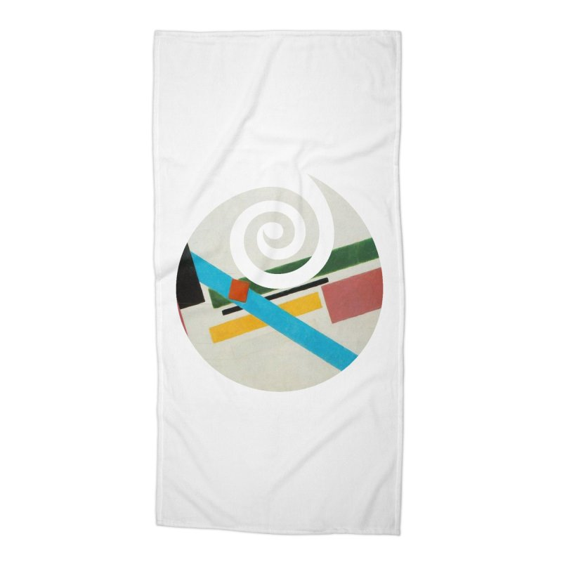 plain // clone Accessories Beach Towel by Shadeprint's Artist Shop