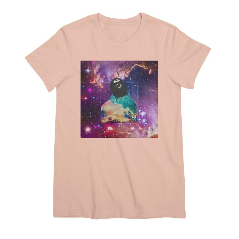 Astronauts $trange Atmospheric Parasite. Women's Premium T-Shirt by Shadeprint's Artist Shop