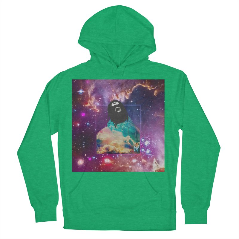 Astronauts $trange Atmospheric Parasite. Women's French Terry Pullover Hoody by Shadeprint's Artist Shop