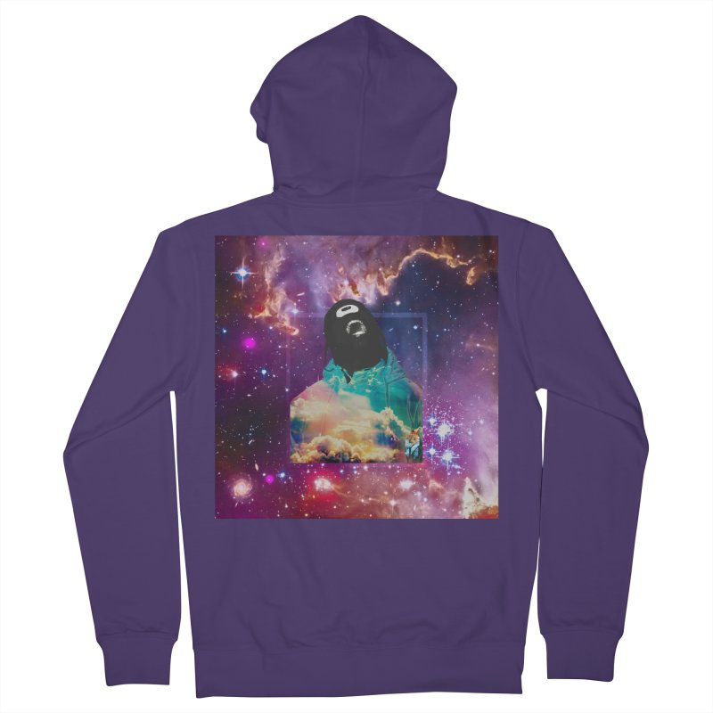 Astronauts $trange Atmospheric Parasite. Women's French Terry Zip-Up Hoody by Shadeprint's Artist Shop
