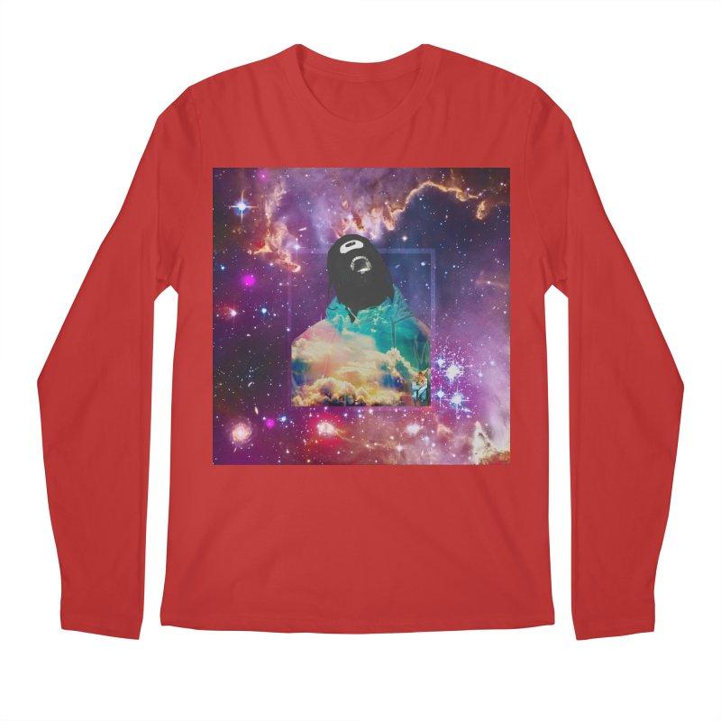 Astronauts $trange Atmospheric Parasite. Men's Regular Longsleeve T-Shirt by Shadeprint's Artist Shop