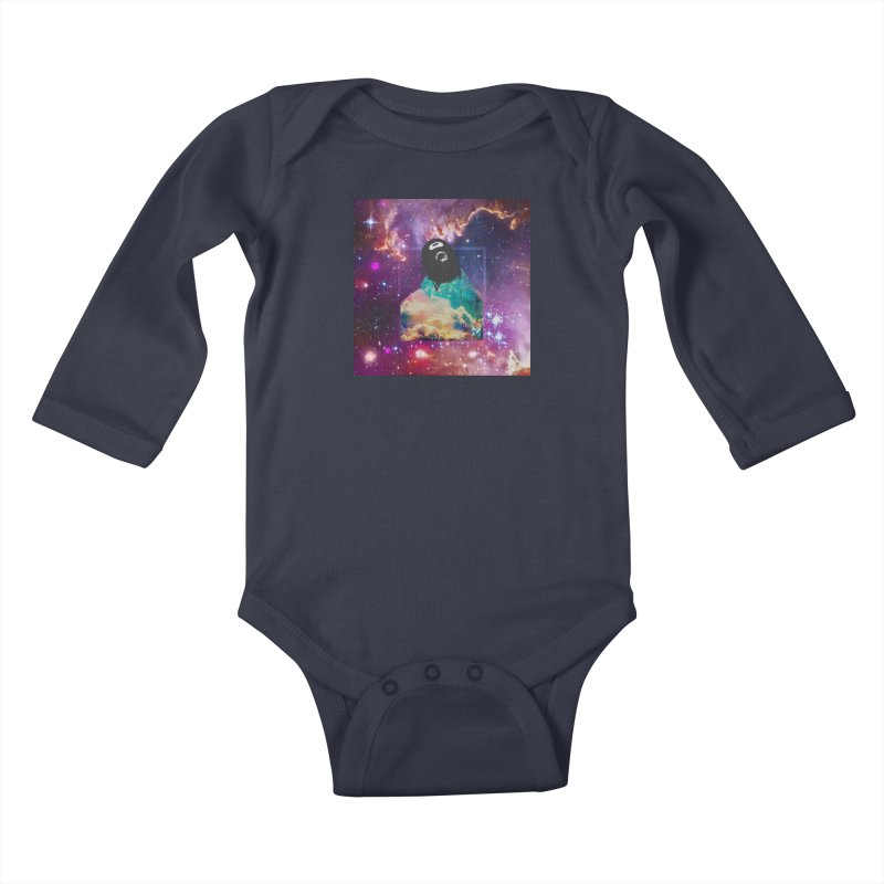 Astronauts $trange Atmospheric Parasite. Kids Baby Longsleeve Bodysuit by Shadeprint's Artist Shop