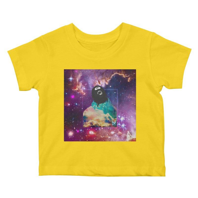 Astronauts $trange Atmospheric Parasite. Kids Baby T-Shirt by Shadeprint's Artist Shop