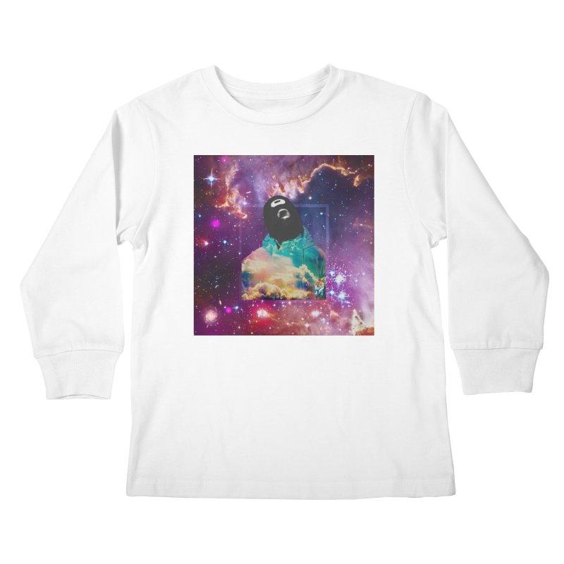 Astronauts $trange Atmospheric Parasite. Kids Longsleeve T-Shirt by Shadeprint's Artist Shop