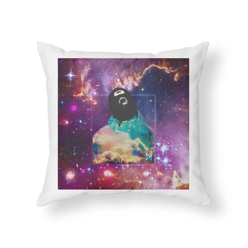 Astronauts $trange Atmospheric Parasite. Home Throw Pillow by Shadeprint's Artist Shop