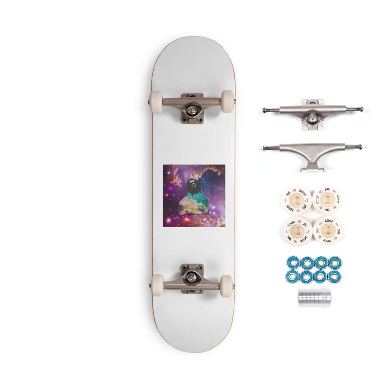 Astronauts $trange Atmospheric Parasite. Accessories Complete - Premium Skateboard by Shadeprint's Artist Shop