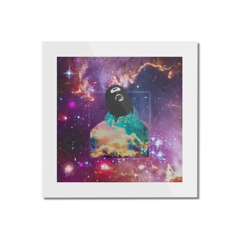 Astronauts $trange Atmospheric Parasite. Home Mounted Acrylic Print by Shadeprint's Artist Shop