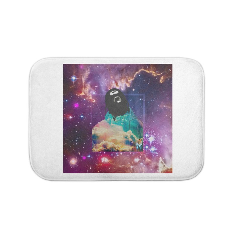 Astronauts $trange Atmospheric Parasite. Home Bath Mat by Shadeprint's Artist Shop