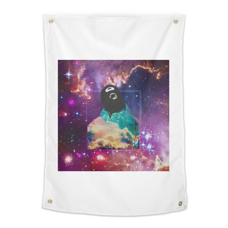 Astronauts $trange Atmospheric Parasite. Home Tapestry by Shadeprint's Artist Shop