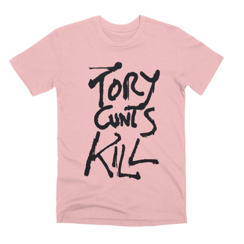 Austerity Kills Men's Premium T-Shirt by Shadeprint's Artist Shop