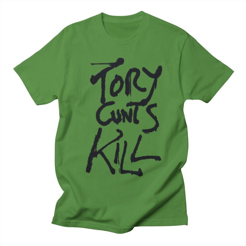 Austerity Kills Men's Regular T-Shirt by Shadeprint's Artist Shop