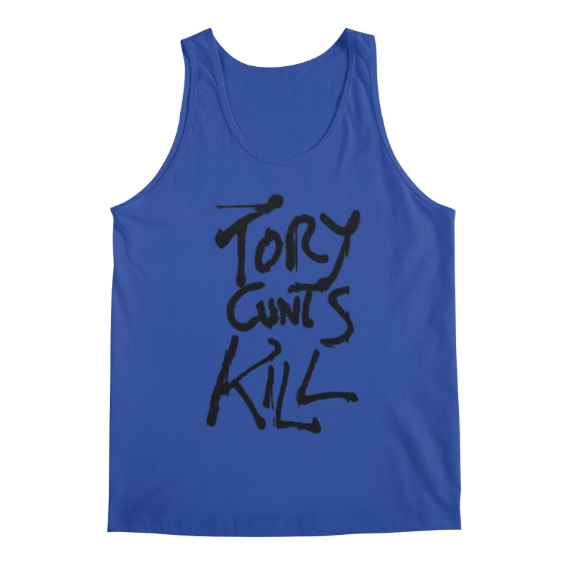 Austerity Kills Men's Regular Tank by Shadeprint's Artist Shop