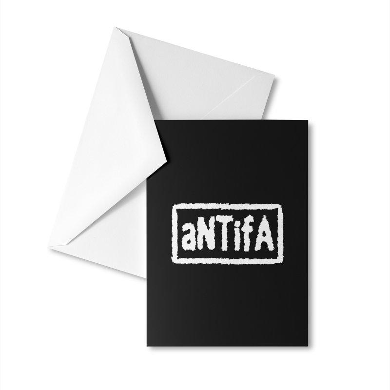 nEw WorLD aNTiFA Accessories Greeting Card by SHADEPRINT.DESIGN