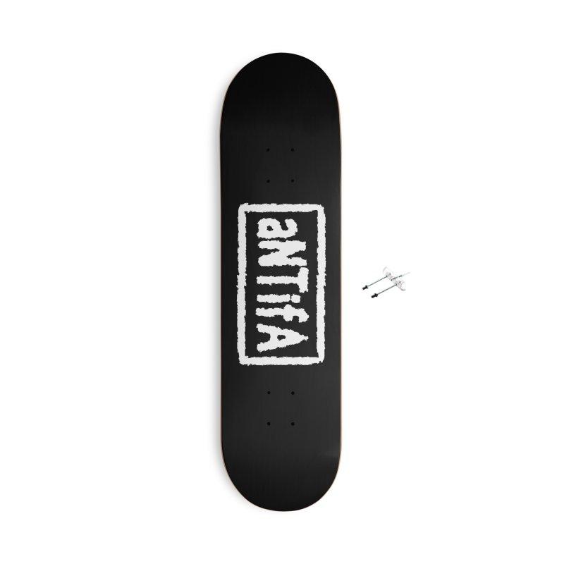 nEw WorLD aNTiFA Accessories Skateboard by SHADEPRINT.DESIGN