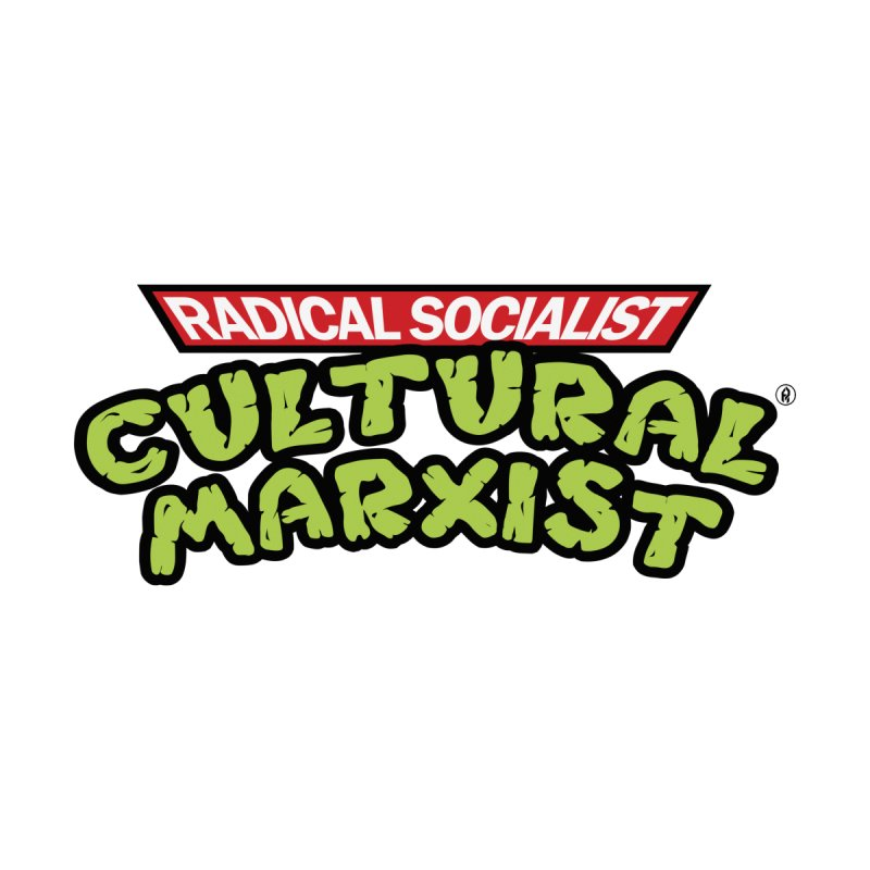 ♫ Radical Socialist Cultural Marxist ♫ Men's T-Shirt by SHADEPRINT.DESIGN