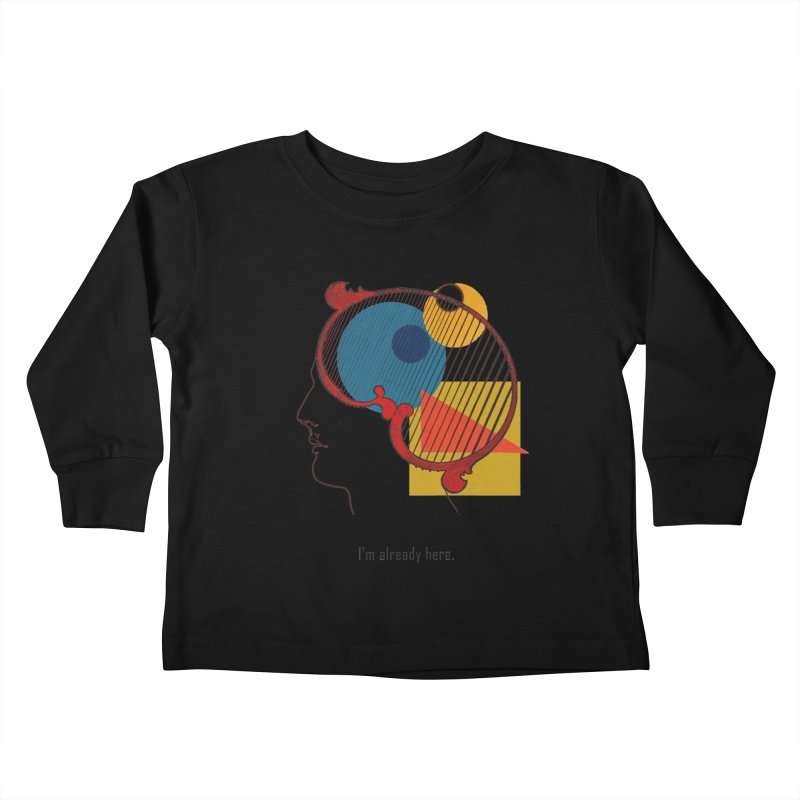 Quick Thought Kids Toddler Longsleeve T-Shirt by SHADEPRINT.DESIGN
