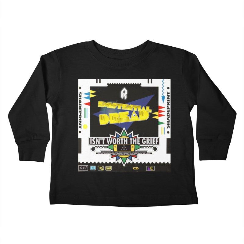Existential Grief Kids Toddler Longsleeve T-Shirt by SHADEPRINT.DESIGN