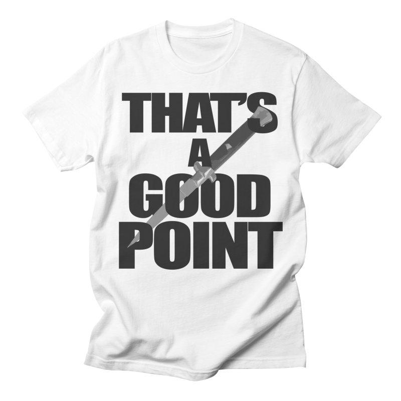 GOOD POINT! Women's T-Shirt by SHADEPRINT.DESIGN