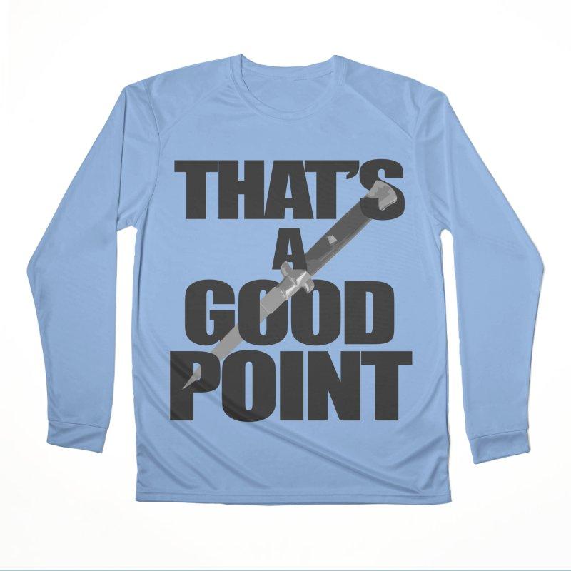 GOOD POINT! Women's Longsleeve T-Shirt by SHADEPRINT.DESIGN
