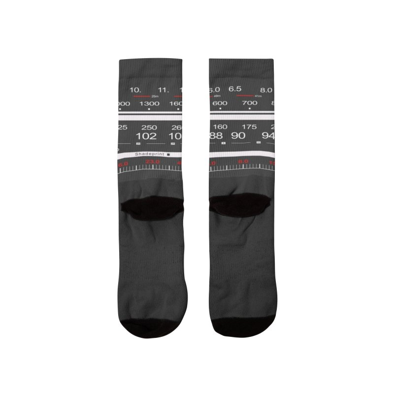 Shadeprint FM Men's Socks by SHADEPRINT.DESIGN