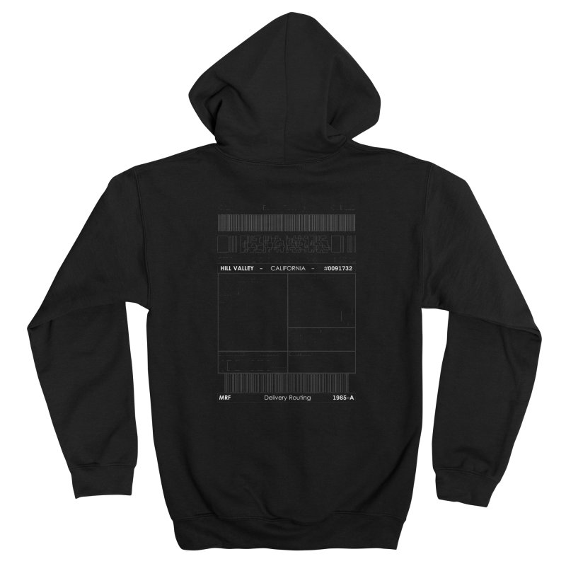 To the McFly Residence Women's Zip-Up Hoody by SHADEPRINT.DESIGN