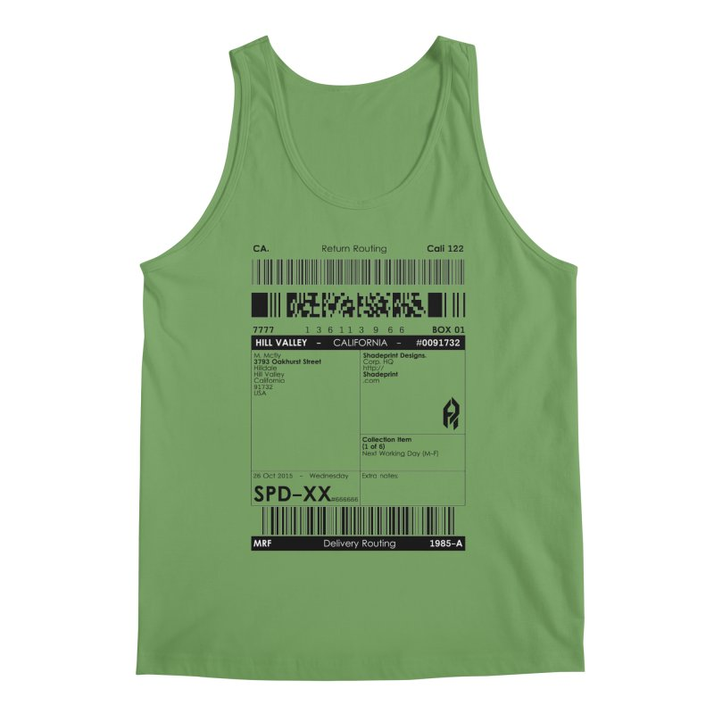 To the McFly Residence Men's Tank by SHADEPRINT.DESIGN