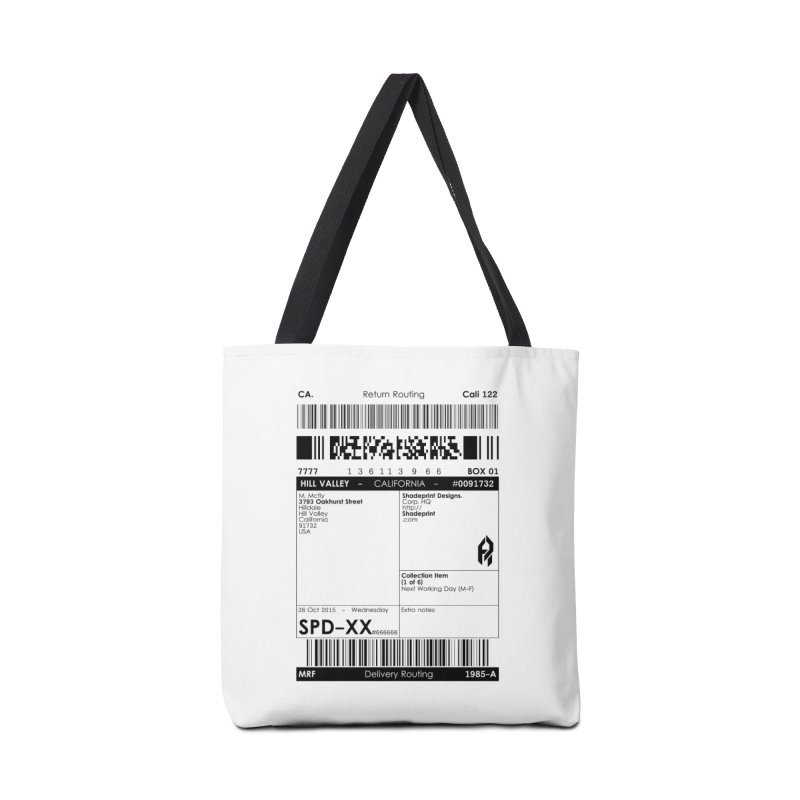 To the McFly Residence Accessories Bag by SHADEPRINT.DESIGN