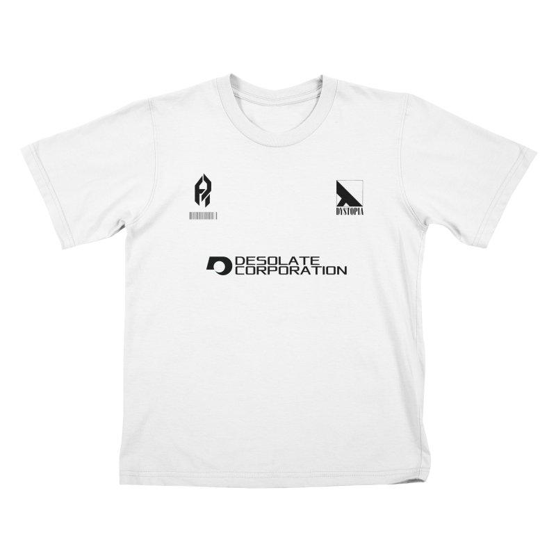 Dystopian Kit. Kids T-Shirt by SHADEPRINT.DESIGN