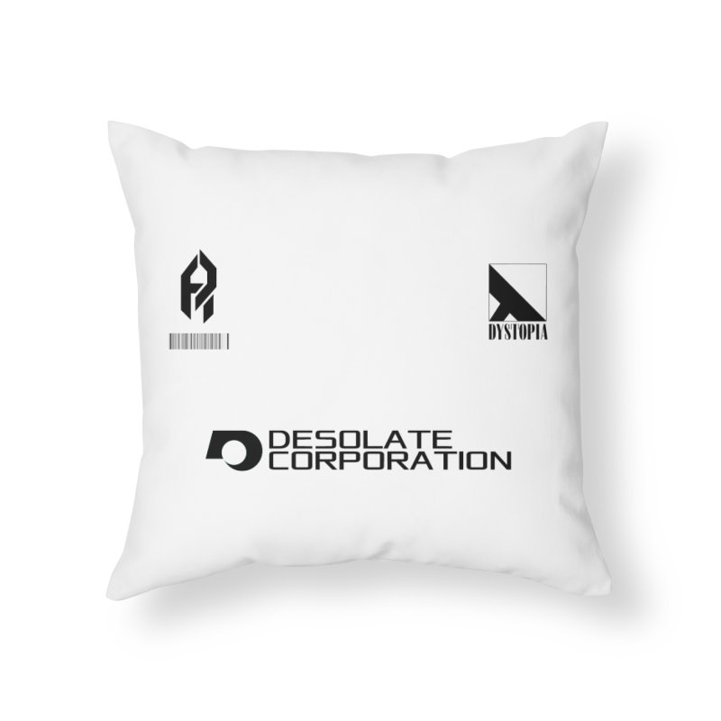Dystopian Kit. Home Throw Pillow by SHADEPRINT.DESIGN