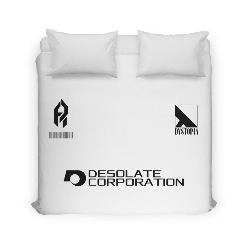 Dystopian Kit. Home Duvet by SHADEPRINT.DESIGN